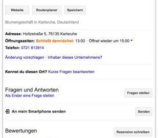 Google My Business - Inhaberschaft übernehmen