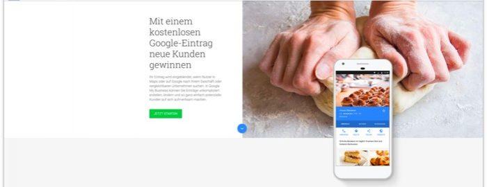 Google My Business - Eintrag erstellen