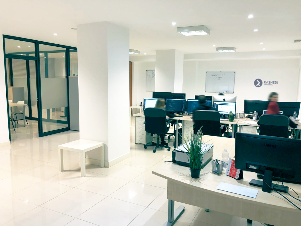 Büro, Computer, Bürostuhl, Schreibtisch