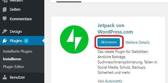 Wordpress, Jetpack